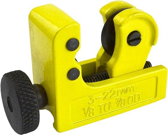 Tube Cutter 3-22mm Workshop Garage Handyman DIY Work Mechanic Plumber TE681