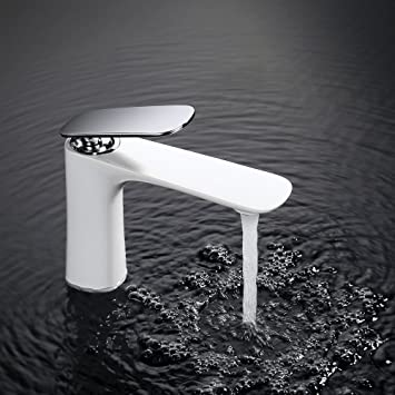 Homelody Edel weiss Wasserhahn bad Armatur Waschbecken Badarmatur ...