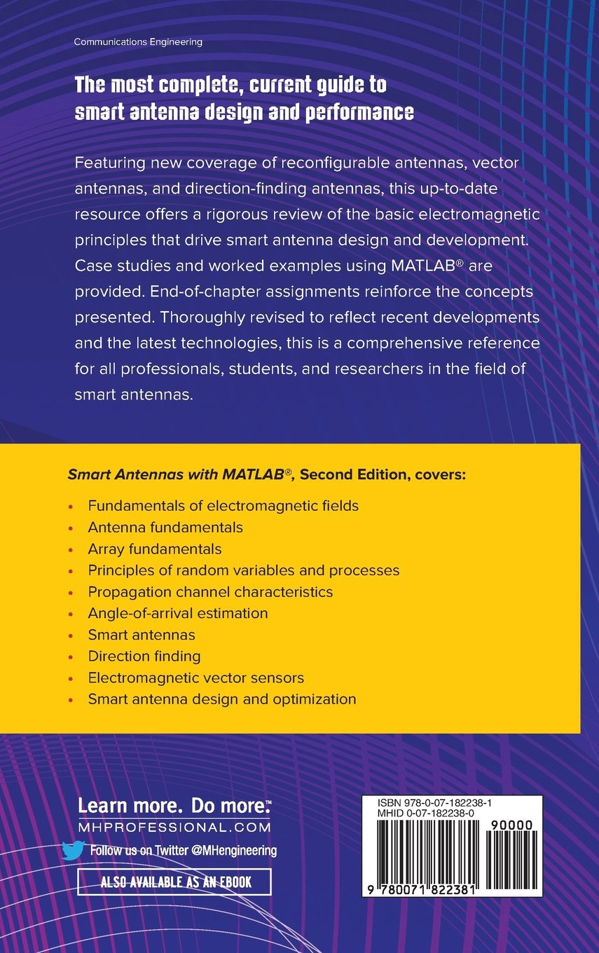 Buy Smart Antennas with MATLAB, Second Edition Book Online