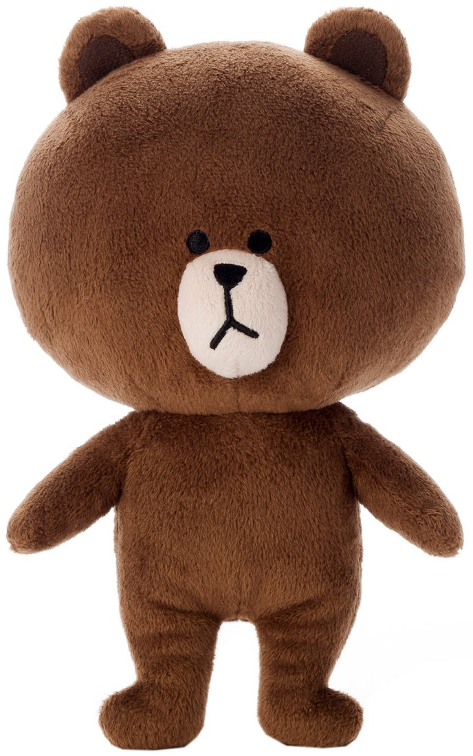 LINE CHARACTER Brown 2S (japan import)