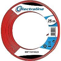 Electraline 90601028A Cable Unipolar H07 V-U 1X2,5 25M