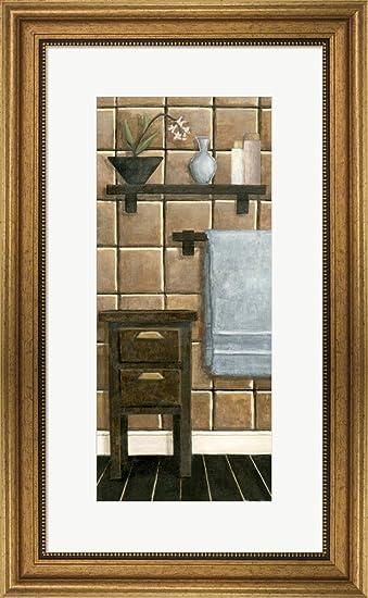 Amazon.com: Modern Bath Panel IV by Megan Meagher Framed Art Print ...
