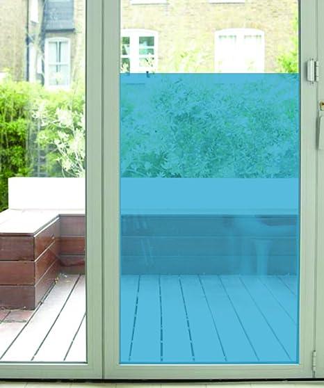 coloured window film static the window film company r5241220x4amz rainbow pale coloured film blue 1220