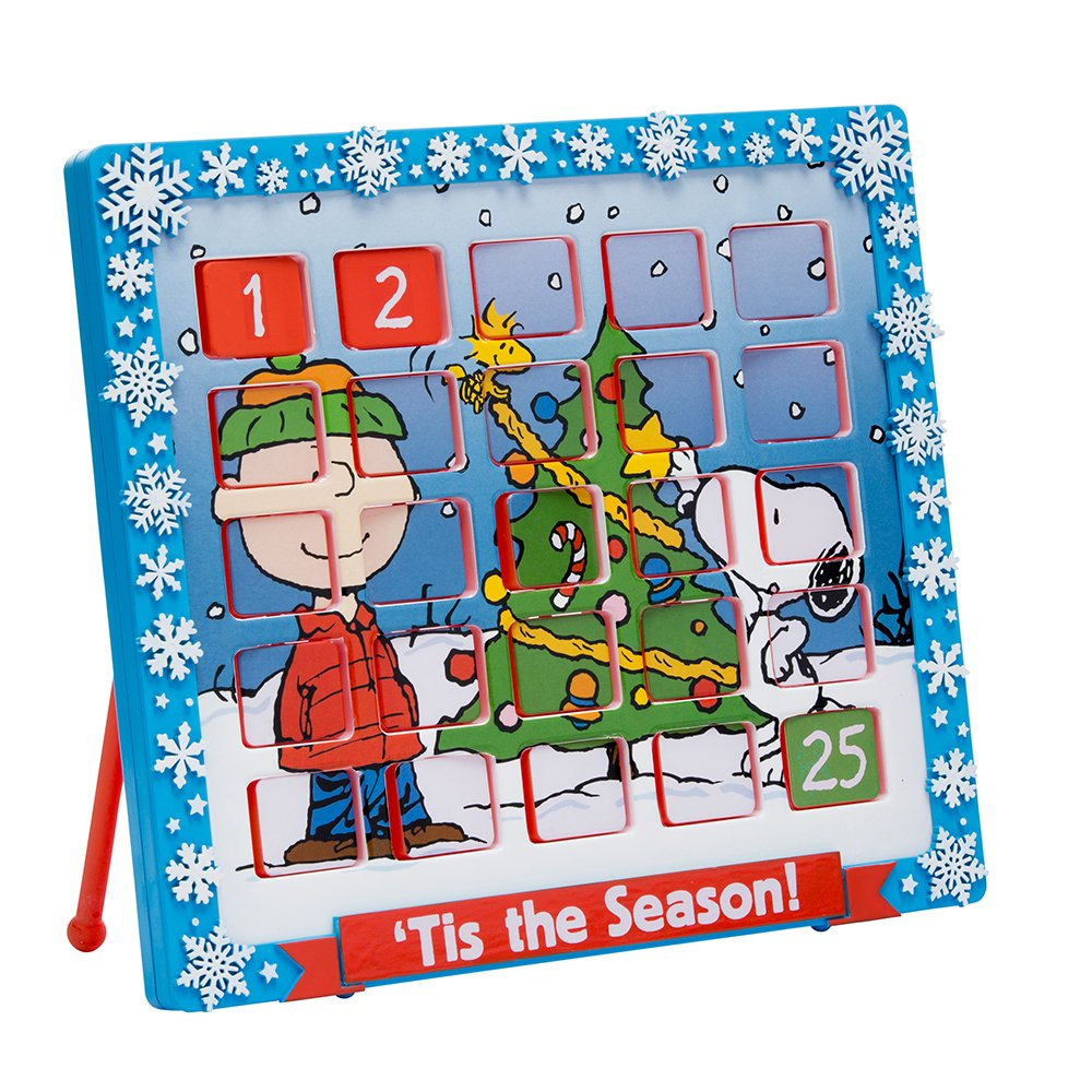 Kurt Adler 9.5'' Peanuts Advent Calendar