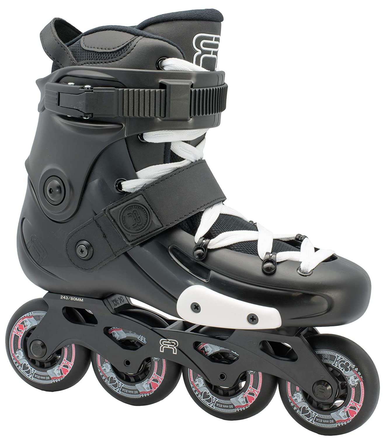 FR Skates FRX 80mm 2019 - Inline Skate for Freeride, Slalom, City Skating. Popular French Brand. Best patines en Linea or Rollerblades, high Performance Inline Skates
