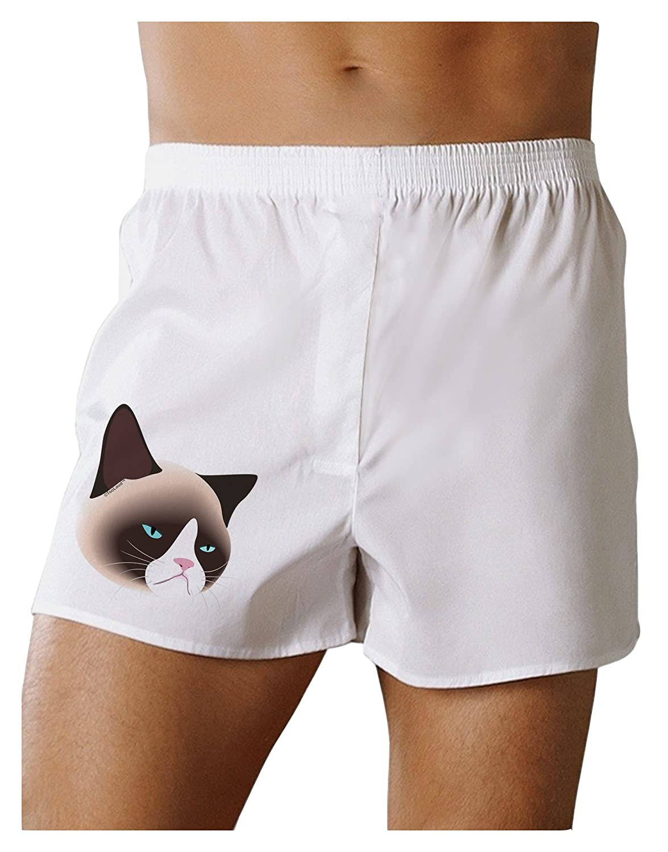 TOOLOUD Cute Disgruntled Siamese Cat Boxers Shorts