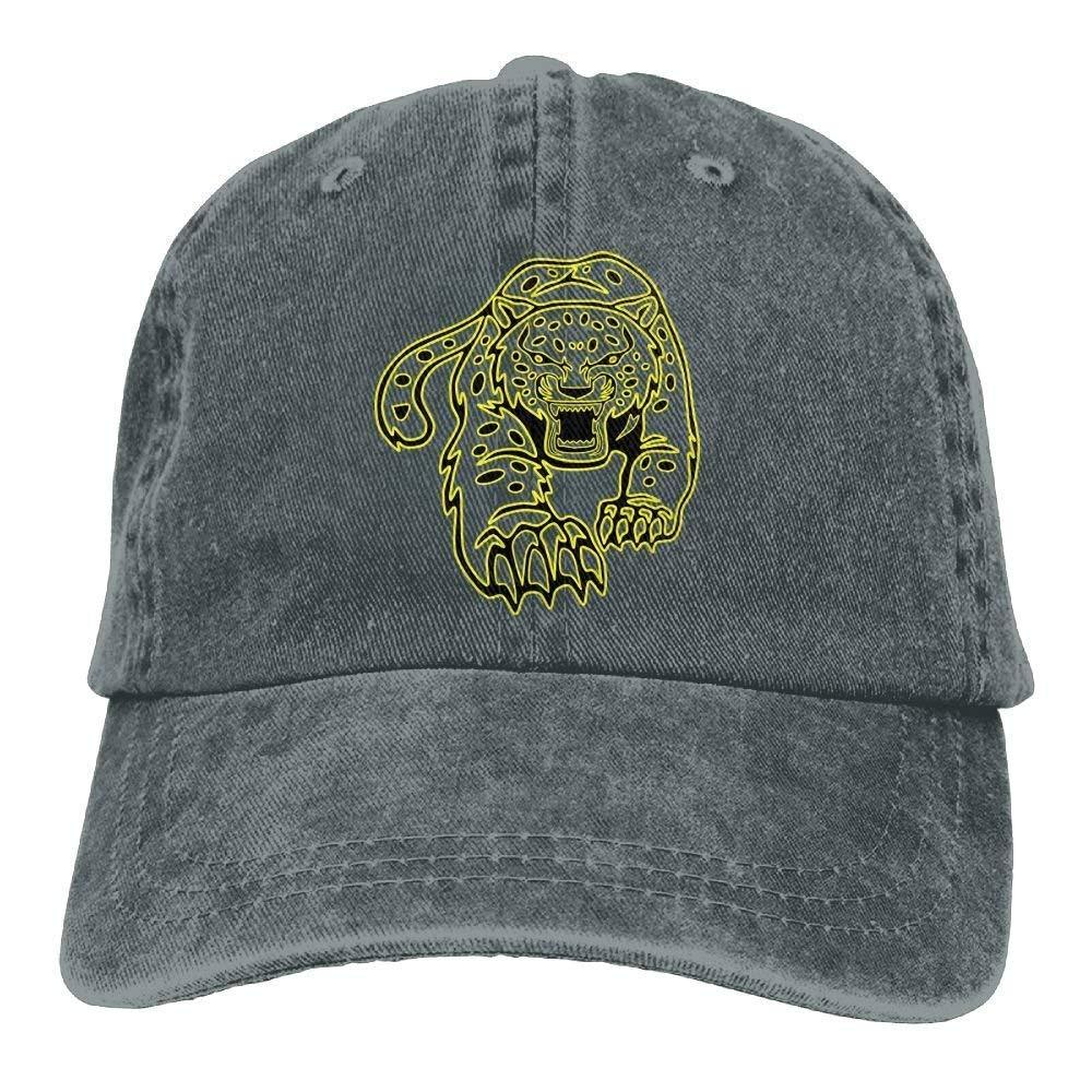 Golden Brutal Leopard Denim Hat Adjustable Male Stretch Baseball Caps JTRVW Cowboy Hats