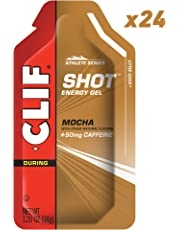 CLIF SHOT - Energy Gel - Mocha - (1.2 Ounce Packet, 24 Count)
