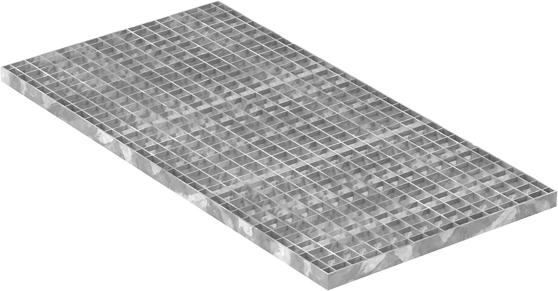 Gitterrost//Industrie-Rost//Garagen-Rost Radlast: 2,64 kN//Fl/ächenlast Pressrost feuerverzinkt MW: 30//30 mm Ma/ße: 700 x 1000 x 30 mm Fenau Stab-in-Stab m/² Materialst/ärke: 2 mm : 21,16 kN