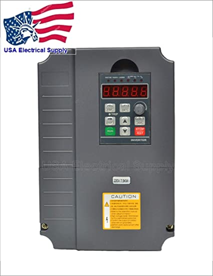 7.5KW 220V 10HP 34A CE QUALITY VFD VARIABLE FREQUENCY DRIVE INVERTER NEW
