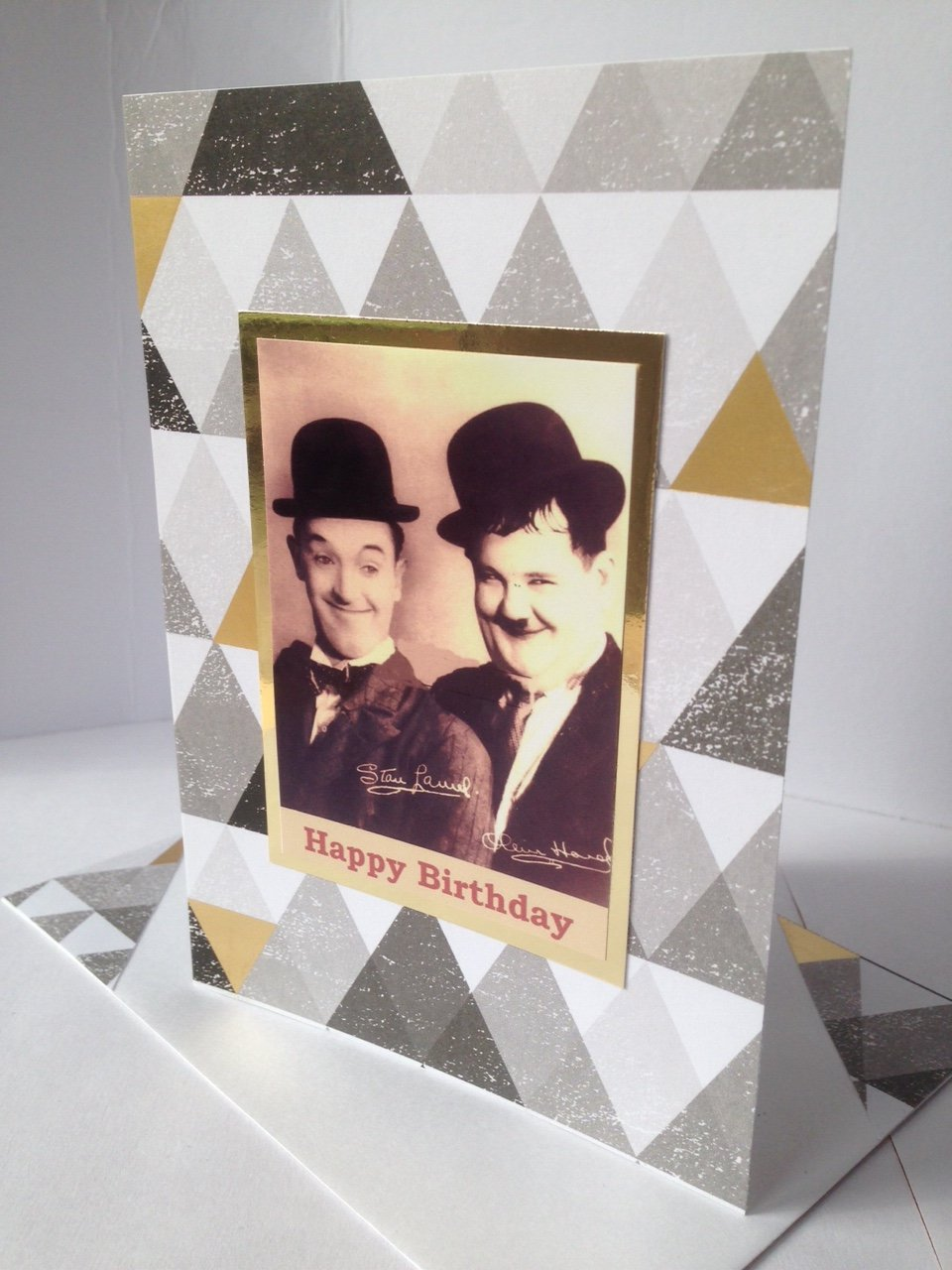 Laurel /& Hardy 3 Comedy Double Act Early Classical Hollywood Era American Poster