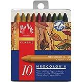CREATIVE ART MATERIALS Neocolor II 10 Watersoluble Crayon Set-Autumn (7500.913 )