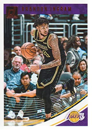 9a6d01d9590 2018-19 Donruss Basketball #64 Brandon Ingram Los Angeles Lakers at  Amazon's Sports Collectibles Store