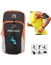 """1617 UE Sports de plein air multifonctionnels en cours d'exécution brassard bras téléphone portable sac avec porte-clés, pochette pour les téléphones intelligents jusqu'à 5,8 """""""
