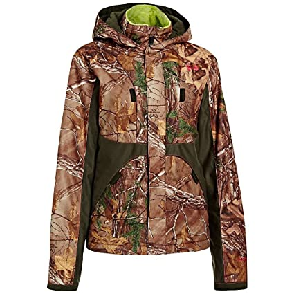 1b3a00c9c161 Under Armour UA Coldgear Infrared Scent Control Gunpowder Jacket - Women s  Realtree AP-Xtra