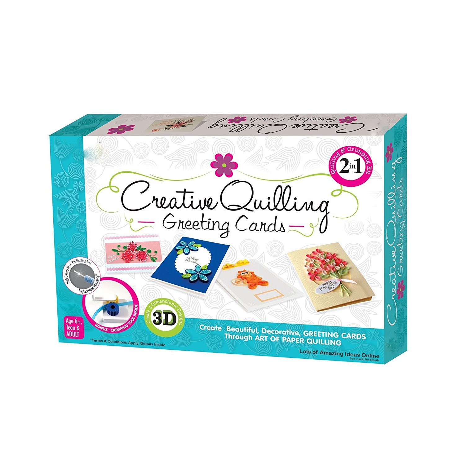 Buy Grapple Deals Creative Quilling Greeting Cards Decoration Best