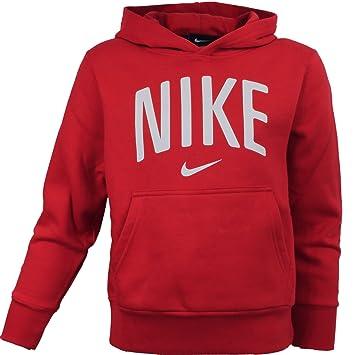 Sudadera con capucha Nike Junior 534915 607 athlete/sudadera con capucha/ sudadera con capucha sudadera-camiseta/ Rojo rojo Talla:XL: Amazon.es: Deportes y ...