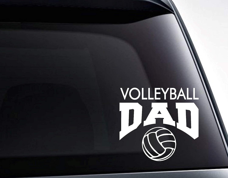 Volleyball Dad Decal, Volleyball Dad Sticker Car Decal, Car Sticker, Laptop Decal, Laptop Sticker 11inch