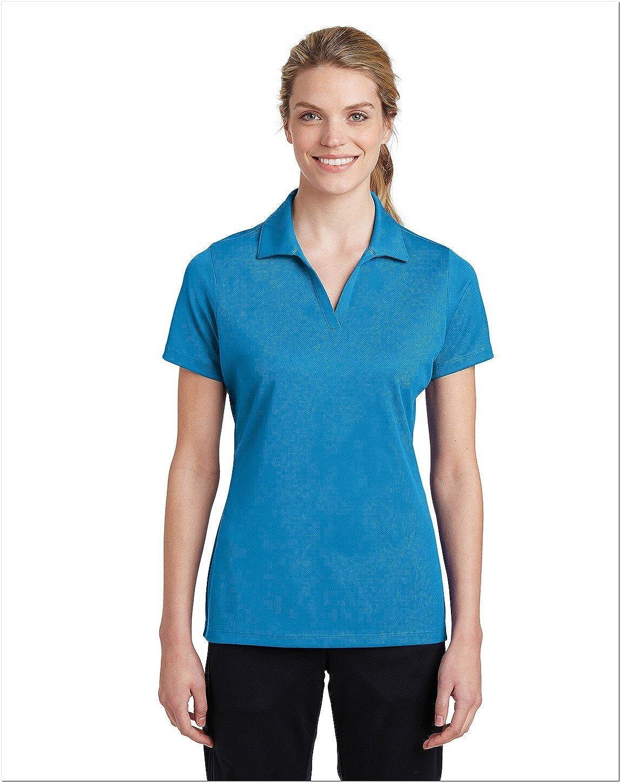 Polo transpirable para mujer de la marca Sport-Tek azul pond blue ...