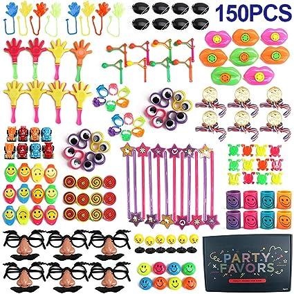 Amazon.com: Letsgood 150 piezas de premios de fiesta para ...