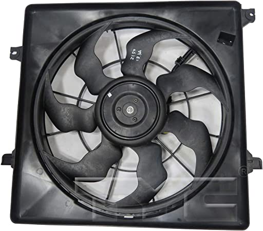 TYC 623860 KIA Sorento Replacement Cooling Fan Assembly