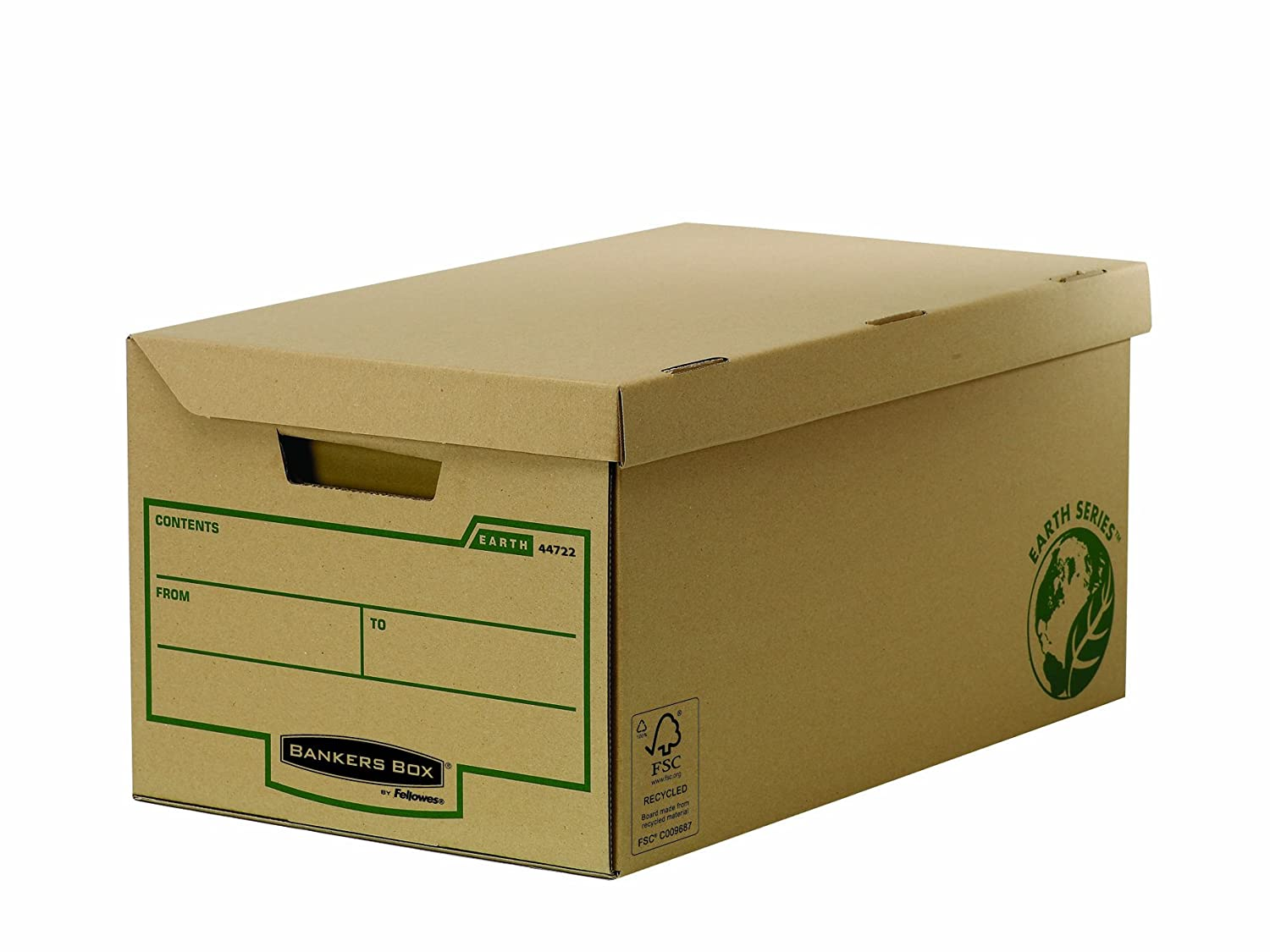 76 mm Fellowes Bankers Box Earth Series Parts Bins Pack of 50