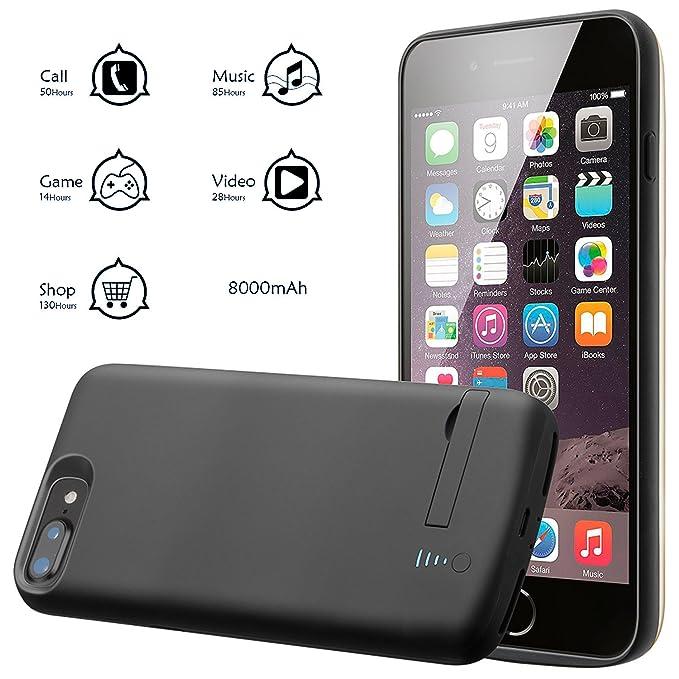 Amazon.com: Funda de batería para iPhone, funda de cargador ...