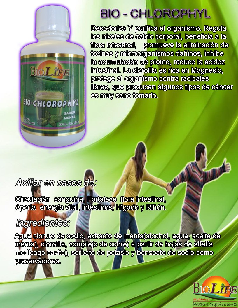 Amazon.com: BIO Chlorophyll, Liquid Dietary Supplement, 16 Fl Oz. Deodorizes and Purifies the Body. By Biolife: Health & Personal Care