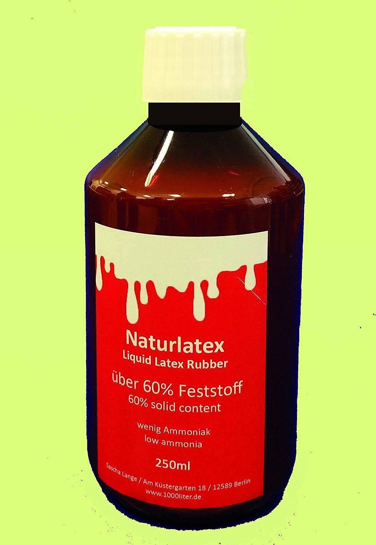 250 ml látex líquido líquido, Látex de caucho natural, natural, sockenstopp gummimilch: Amazon.es: Bricolaje y herramientas