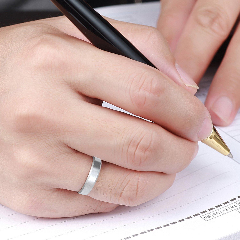 COOLMAN Stainless Steel Ring Men\'s Rings Wedding Rings Fashion Rings ...