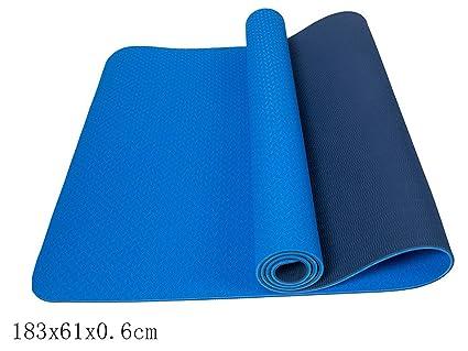 Amazon.com : Ting room TPE Yoga mat Fitness mat Widened ...