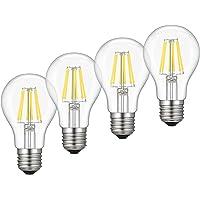 4-Pack Kohree Dimmable Edison LED Bulb (Warm White)