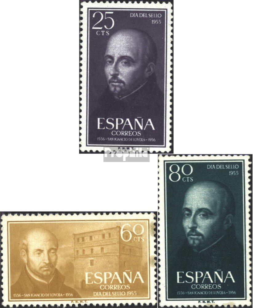 Prophila Collection España Michel.-No..: 1062-1064 (Completa.edición.) 1955 Ignacio por Loyola (Sellos para los coleccionistas): Amazon.es: Juguetes y juegos