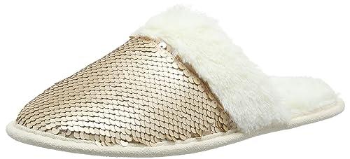 9cf814db1cc8e New Look 915 Damen Narkle Flache Hausschuhe: Amazon.de: Schuhe ...