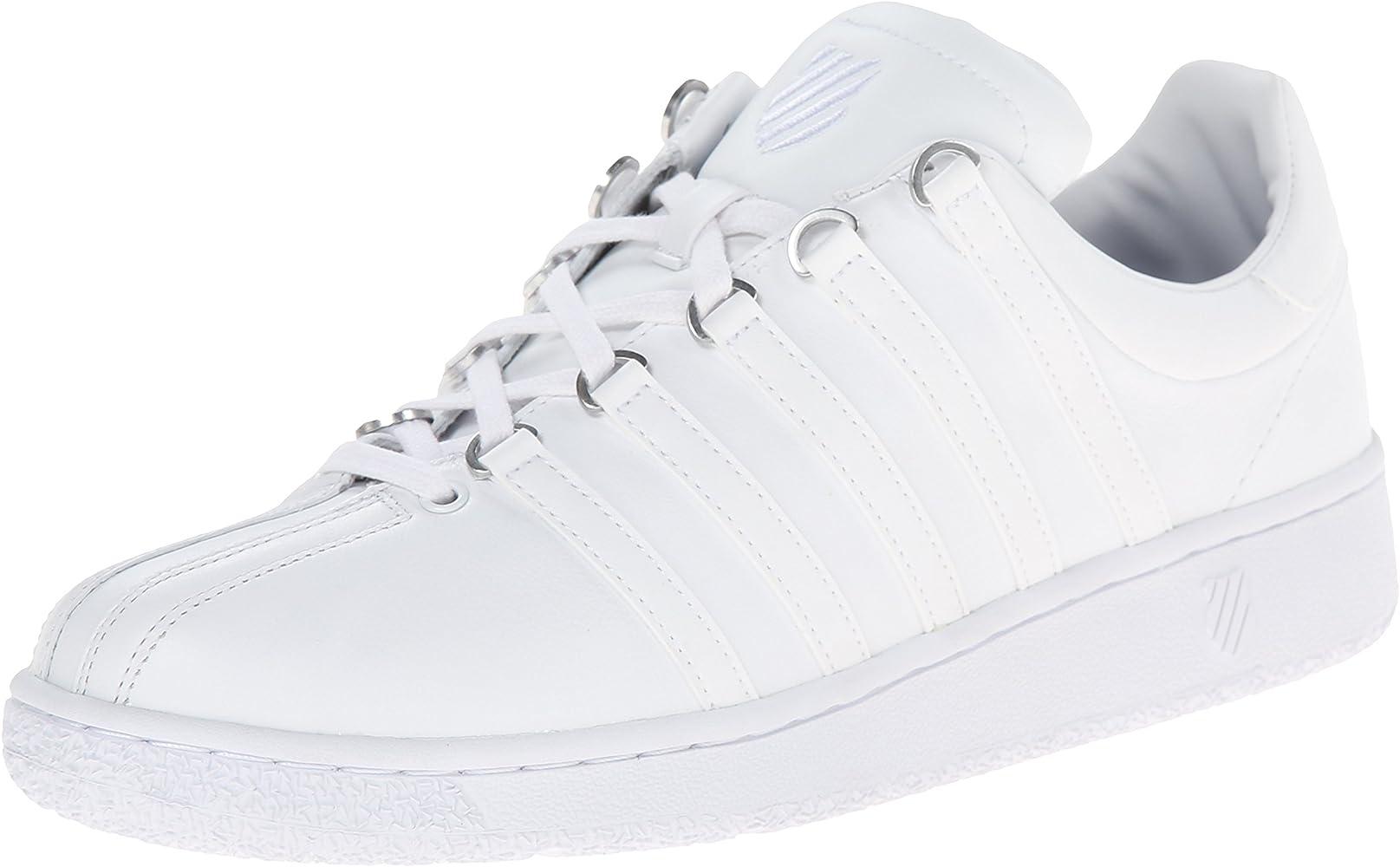 K-Swiss Classic Vn M, Zapatillas para Hombre, Blanco-White (White ...
