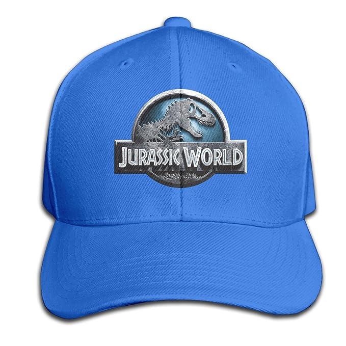 Unisex Cap Vintage Jurassic Park Men s Jurassic World Logo Adjustable  Snapbak 1aeefc6cf8d