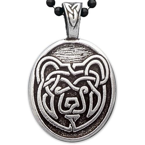 Amazon celtic bear pendant jewelry celtic bear pendant aloadofball Gallery