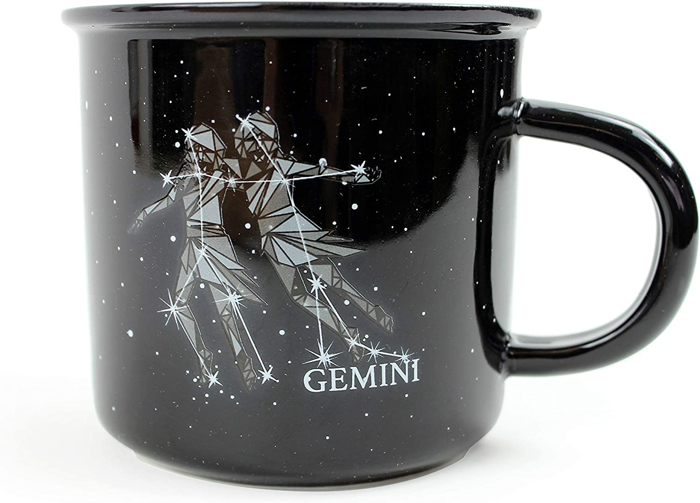 Gemini Horoscope 12oz Latte Mug Cup Astrology Star Sign Zodiac Birthday