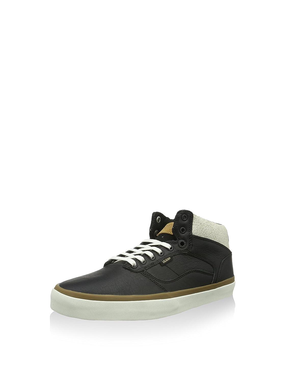 Vans Herren Bedford Hightop Sneaker  Schwarz/Weiß/Braun  38.5 EU