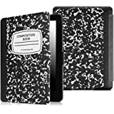 Fintie SlimShell Case for Kindle Paperwhite - The Thinnest and Lightest Cover With Auto Sleep / Wake for All-New Amazon Kindle Paperwhite (Fits All 2012, 2013, 2015 and 2016 Versions), Composition B