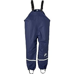 Sterntaler Pantaloni Impermeabili Sfoderati Con Bretelle Pantalon De Pluie B/éb/é gar/çon
