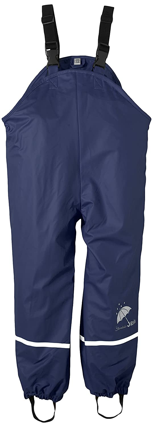Sterntaler Children's Rain Trousers, Lined, Age: 2-3 Years, Size: 98, Blue 5651445