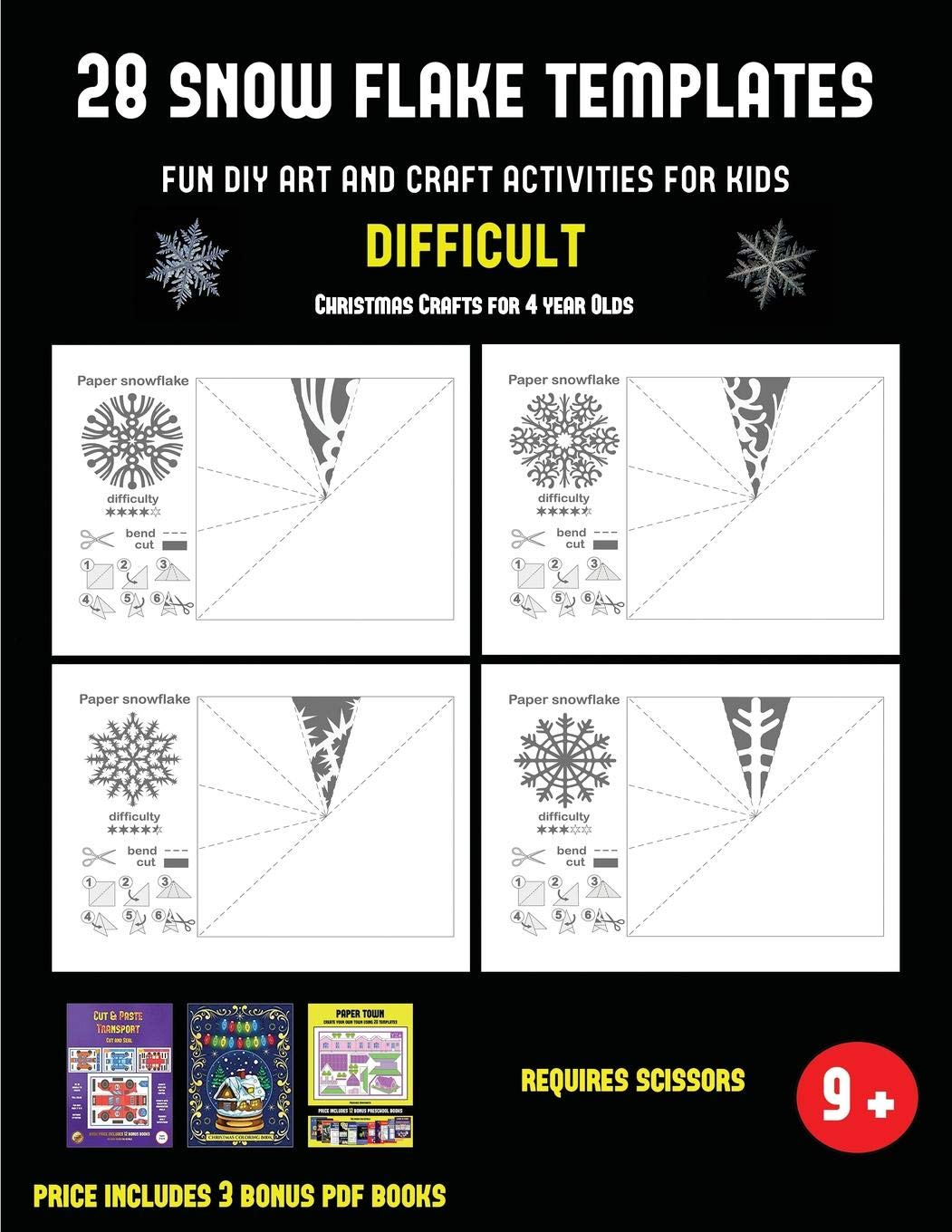 Christmas Crafts For 1 Year Olds.Buy Christmas Crafts For 4 Year Olds 28 Snowflake Templates