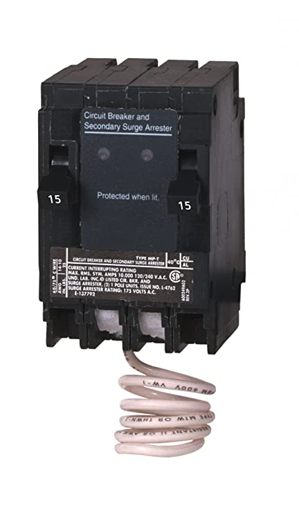Murray MSA1515SPD Space Saving Whole House Surge Protection with Two ...