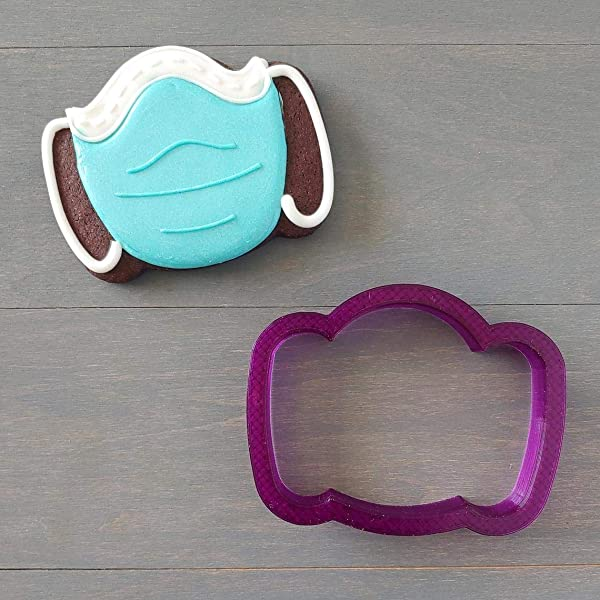 Labor Day Gift Cookie 3D Printed Clay Cutter Fondant Cutter Labor Day Cookie Cutter FunOrders Frankenstein Head Cookie Cutter