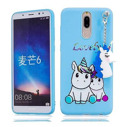 YuanYuZhongPhoneSky Huawei Mate 10 Lite Carcasa, Dibujos ...