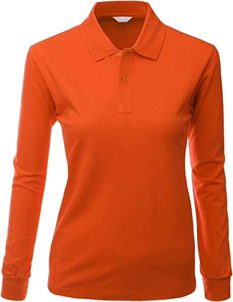 orange long sleeve dri fit