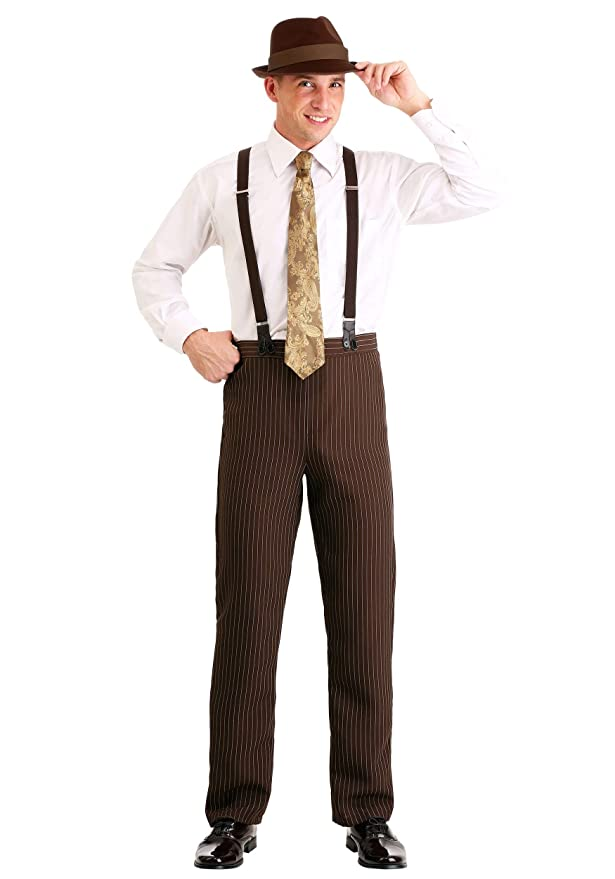 1920s Men's Pants, Trousers, Plus Fours, Knickers Mens Clyde Costume $29.99 AT vintagedancer.com
