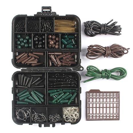Everpert Kit de Accesorios de Pesca antienredos para Aparejos de Carpa