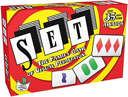 Set Card Game the Family Game of Visual Perception, Card Games ...